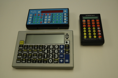 Different types of talking calculators