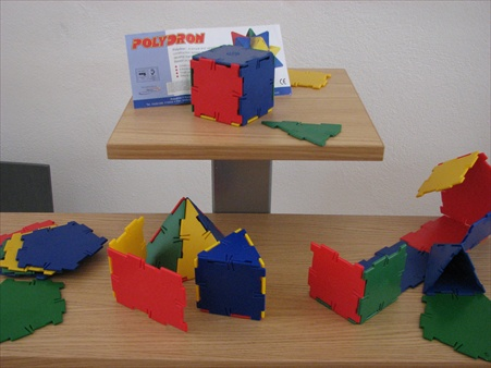 'Polydron' building toys
